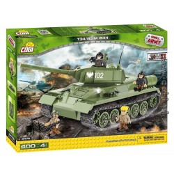 400 PCS SMALL ARMY /2476/     T34/85 NEW VERSION