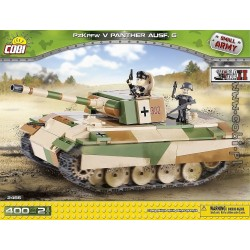 400 PCS SMALL ARMY /2466/ PZKPFW V PANTHER AUSFG