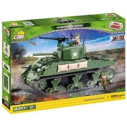 400 PCS SMALL ARMY /2464/ SHERMAN M4A1
