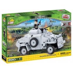 220 PCS SMALL ARMY /2366/ SD.KFZ 222