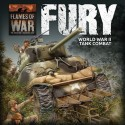"""FURY"" Starter Set (1x Tiger, 1x STUG, 2x Sherman's, 1x M10 - Plastic)"