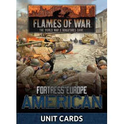 American Unit Cards (Late War x29 cards)