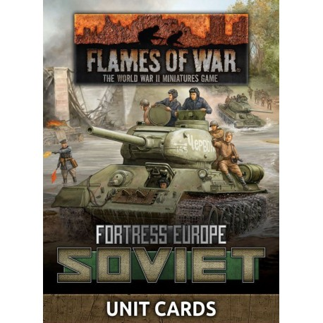 Soviet Unit Cards (Late War x53 cards)