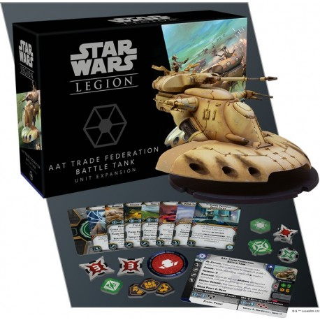 Star Wars Legion: AAT Trade Federation Battle Tank Edizione Inglese PREORDER