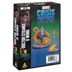 PREORDER MARVEL CRISIS PROTOCOL: DR. STRANGE AND WONG CHARACTER PACK