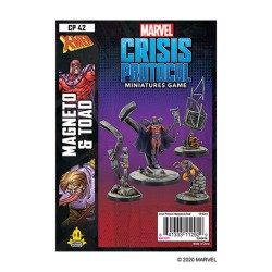 PREORDER  Marvel Crisis Protocol: Mageneto and Toad