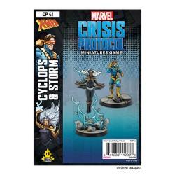PREORDER  Marvel Crisis Protocol: Cyclops & Storm