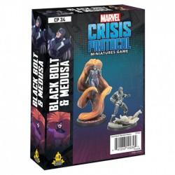 Preorder Marvel: Crisis Protocol - Black Bolt and Medusa