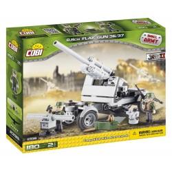180 PCS SMALL ARMY / 2338/8.8 CM FLAK GUN 36/37