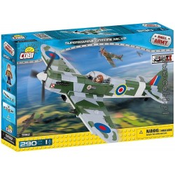 290 PCS SMALL ARMY / 5512/    SPITFIRE