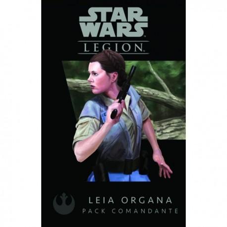 Star Wars: Legion - Pack Comandante Leia Organa