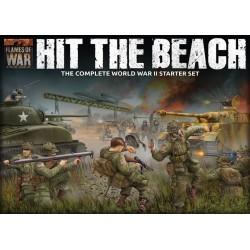 """Hit The Beach"" Army Set (German & American 11x Tanks, 2x Guns, 96x figs - Plastic)"