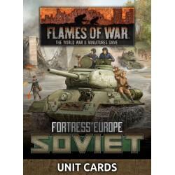 Soviet Unit Cards (Late War x53 cards)