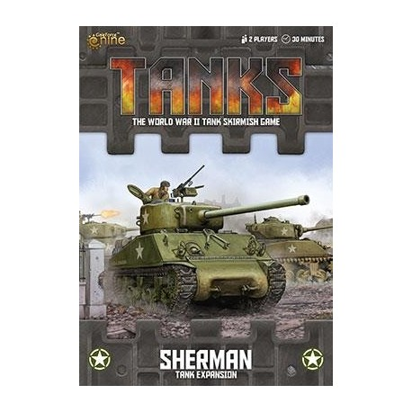 TANKS02 US Sherman Tank Expansion